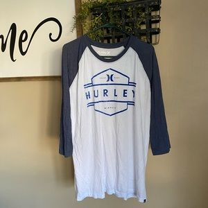 Men's Hurley 3/4 Length Shirt